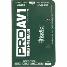 Radial ProAV1 Multimedia Direct Box