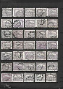 Bulk Stamps Tasmania 2d Hobart x 35 Good Used/ Used Fine Used