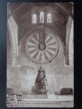 Hampshire WINCHESTER King Arthurs Round Table & Queen Victoria Statue c1915