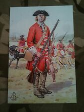 Military Postcard Derby's Regiment Blenheim 1704  by Alix Baker