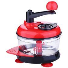 Multi-Function Manual Food Processor Meat Grinder Vegetable Chopper Shredde F7G3
