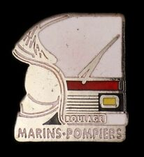 Pin's pin badge ♦ Marins Pompiers Roulage