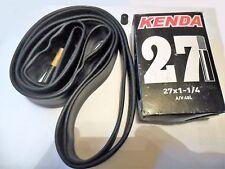 """KENDA 27x1 1/4"""" Inner Tube Extra Long Schrader Car Type Valve 48mm"""