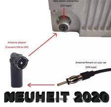 Antennen Adapter Autoradio Alt-Neu Stecker ISO auf DIN Winkeladapter