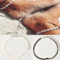 Women Boho Sea Shell Bead Anklet Bracelet Sandal Summer Beach Ankle Jewelry new