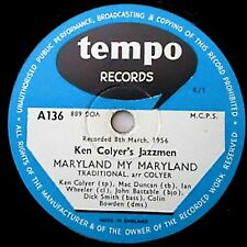KEN COLYER 78 MARYLAND, MY MARYLAND / WORLD IS WAITING FOR SUNRISE TEMPO A136 E-