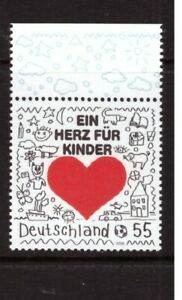 Germany 2008 A Heart for Children MNH mint stamp