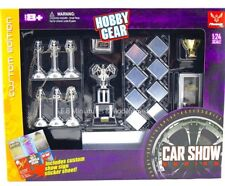 SET  EXPOSITION VOITURE HOBBY GEAR - 1/24