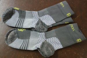 Salomon Outpath Mid Outdoor walking Technical Socks 4-7 Grey