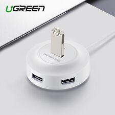 Ugreen USB 2.0 HUB 4 Port Splitter Adapter Cable High Speed For PC Laptop White