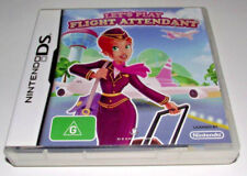 Let's play Flight Attendant Nintendo DS 2DS 3DS Game *No Manual*