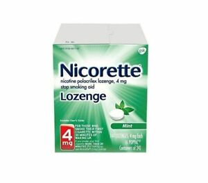 Nicorette Nicotine Lozenge 4mg MINT 144 Lozenges Past Date