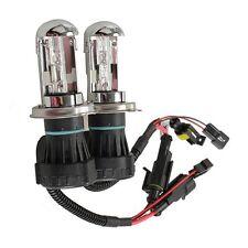 2Pcs 35W Car Xenon HID H4 H/L 10000K Head Light Bulbs Lamps High & Low Beam