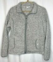 Magellan Women's Soft Fleece Jacket Long sleeve Full zip Size Large pockets