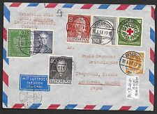 German Federation covers 1953 attractive Airmailcover Radbruch to Ohsaka