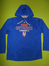 Hoodie NEW YORK METS 2015 Playoff On Field Take October (L) MAJESTIC PERFECT MLB