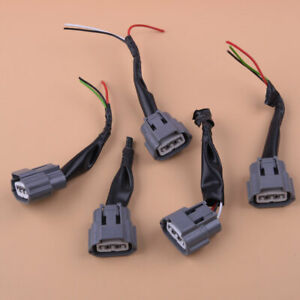 5x Ignition Coil Pack Wiring Harness Connector Plug for Nissan Altima Sentra Kt