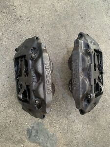 Used Pair of JDM Nissan 300ZX Z32 Front Brake Calipers Used