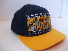 San Diego Chargers NFL Football Spell Out Hat Proline Snapback Baseball Cap