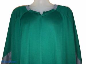 Adidas Men's Green Gameday 3/4 Sleeve Training Soccer Shirt 4XLT, 4X-Large Tall