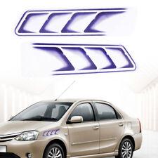 2stk Vehicle Styling 3D Fake Vents dekorative Outlet Side Vents Aufkleber