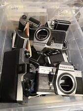 23x Kamera Praktica EXA - Konvolut LOT diverse Modelle