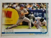 Brandon Lowe 2019 Topps Series 1 Base #114 - Tampa Bay Rays Rookie Card RC
