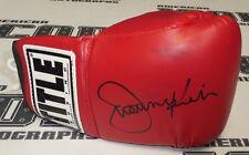 Justine Kish Signed Boxing Glove BAS Beckett COA UFC Muay Thai Kickboxing Auto'd