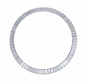STAINLESS STEEL FLUTED BEZEL FOR ROLEX DATEJUST 116200, 116234, 116244 36MM NM
