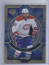 13-14 2013-14 UPPER DECK P.K. SUBBAN DEFENSE SHINING STARS D10 CANADIENS