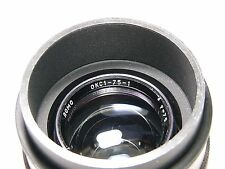 OKS1-75-1 2/75mm #671800 for Nikon-F mount.Soviet Cine Movie Top Class lens/OKC