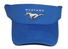 FORD MUSTANG VISOR IN ROYAL  ADULT SIZED SOLD EXCLUSIVELY HERE
