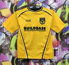 Oxford United Fc Football Shirt Soccer Jersey Training Top Tfg Boys Youth size L
