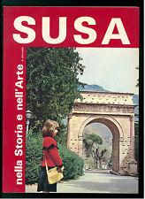 MIGLIARDI GEMMA SUSA NELLA STORIA DELL'ARTE SEGUSIUM 1979 VALLE DI SUSA PIEMONTE