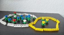 Lego Deko IV 18 Bumen, 18 gelbe Zäune & 15 weiße Zäune