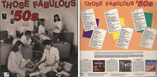 SESSIONS Presents THOSE FABULOUS 50s Fifties Various Artists 3 Disc Vinyl LP Set