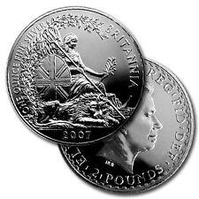 2007 1 oz Silver Britannia Coin
