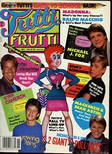 TUTTI FRUTTI 11-86 - KIRK, JOEY & MATT, RICKY SCHRODER, CYNDI LAUPER, MAC, KIRK
