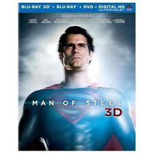 Man of Steel (Blu-ray/DVD, 4-Disc Set, Includes Digital Copy UltraViolet 3.
