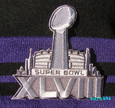 Super Bowl Superbowl 48 XLVIII Patch Seattle Seahawks vs Denver Broncos