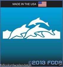 Bottle Nose Dolphins Ocean Wildlife Decal Sticker