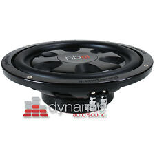POWERBASS S-10T Shallow Mount Car Audio Subwoofer S10T SVC 4-Ohm 550W Sub USED