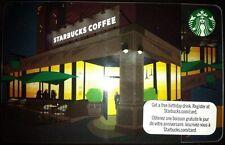 2011 Starbucks Canada collectible Gift Card (no cash value)