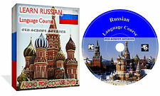 Learn To Speak Russian Language Training Course DVD Audio Disk +Text Lessons