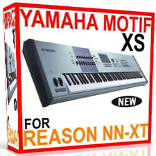 YAMAHA MOTIF XS For REASON SXT REFILLS Patches/Presets/Sounds 7 DVD'S 24GB