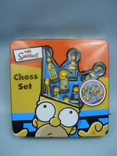 Homer Simpson Chess Set by Cardinal In Original Tin