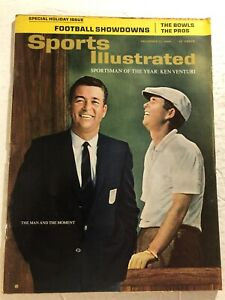 1964 Sports Illustrated THE US OPEN Ken VENTURI Sportsman Of The Year NEWSSTAND