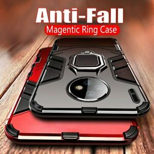 For Huawei Mate 40 Pro 30 20 Pro 20X Shockproof Armor Magnetic Ring Stand Case