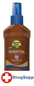 BL Banana Boat Spf#15 Protective Spray Oil Pump 8 oz - Two PACK