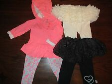 Baby Girl Gap Tutu Leggings, Hello Kitty Tutu leggins, Carters set 6months